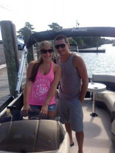 enjoying boating with causeway marine
